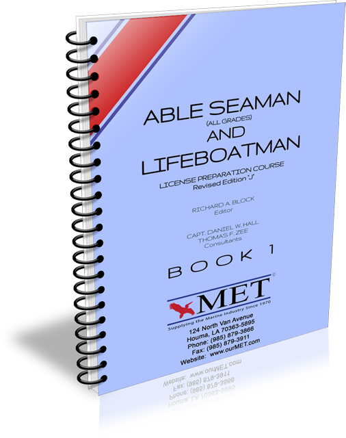 BK-105-01 Able Seaman & Lifeboatman Book 1