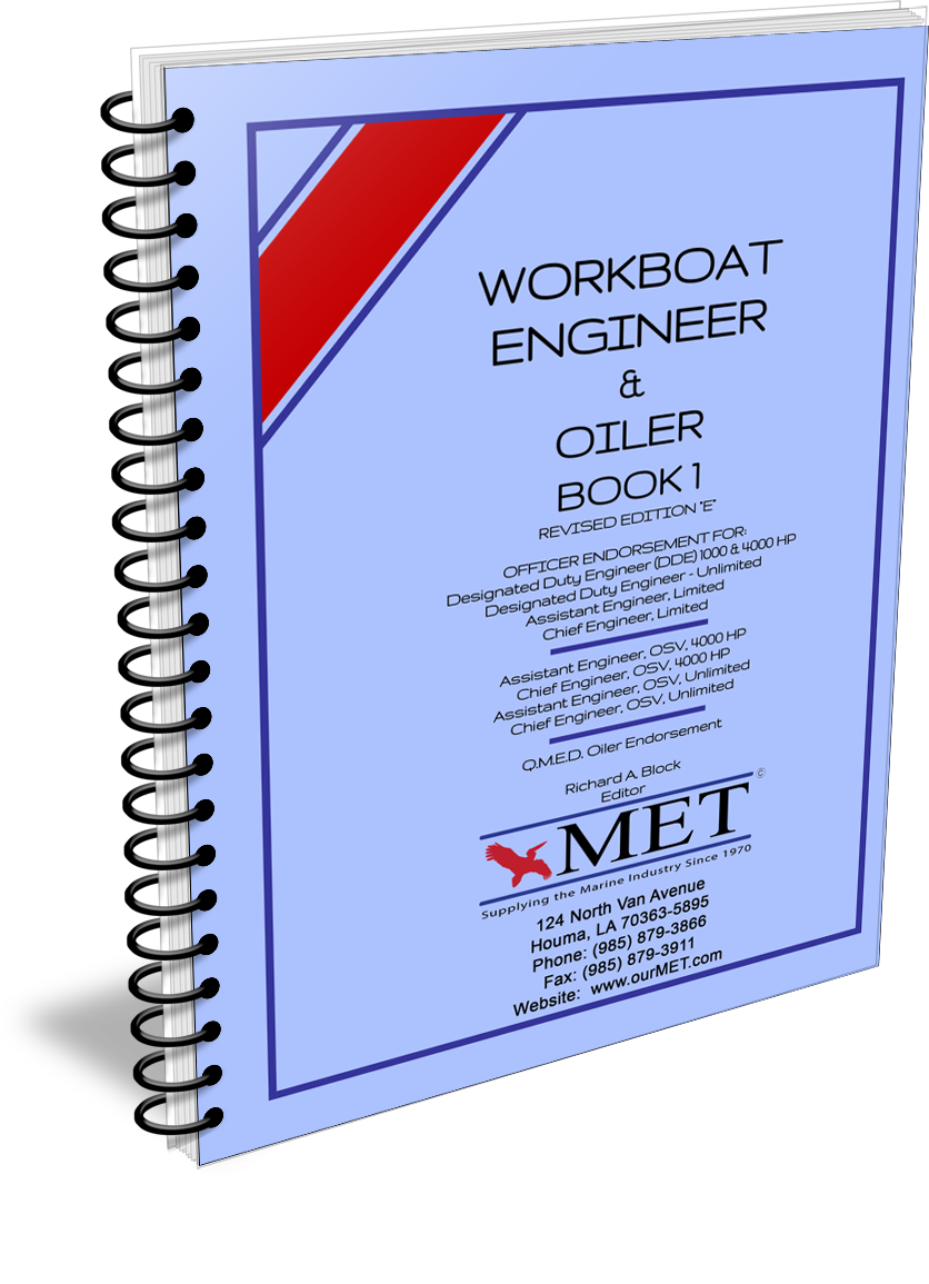 BK-107-1 Workboat Engineer Book 1