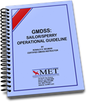 BK-0831 GMDSS:Sailor/Sperry Operational Guideline