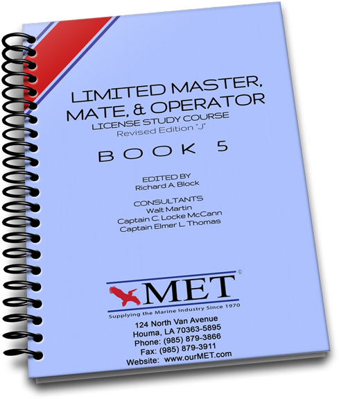 BK-005 Limited Master, Mate & Operator Book 5
