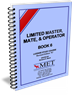 BK-M006 Limited Master, Mate & Operator Book 6