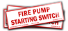 Fire Pump Starting Switch. (7.0x1.75)