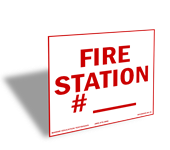 S-18 Fire Station _____. (7.25x8.0)